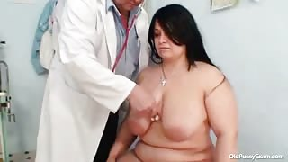Busty Older Woman Receives Kinky Gyno Checkup