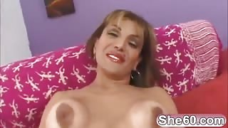Feels really good fucking lovely mature horny pussy