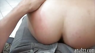 Tiny bodied gf first time anal experience while being filmed