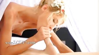 Skinny blonde wow teen fucking
