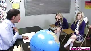 Super hot Bffs Bffs Student go for hard fucking action from a Teacher