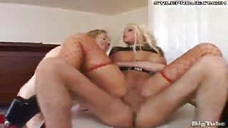 two gorgeous blonde big tit porn stars get ass fucked by james deen