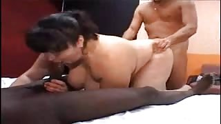 BBW Euro Bella gets Groupfucked!