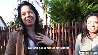Teen orgy with Alexis Alyssa and Tricia