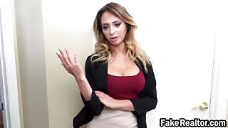 Fake realtor Quinn Wilde filled roughly in bedroom