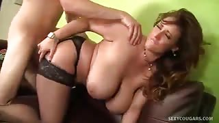 MILF Eva Notty Loves Going After Hard Dick Stud