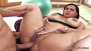 Hot Latina MILF Destiny Gets Anal Fucked By Her Boyfriend