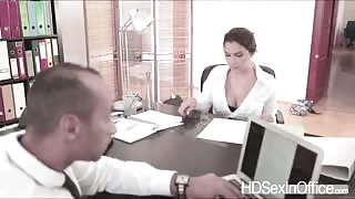 Horny Valentina Nappi gets her pussy pounded with dudes black cock