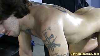 Gaysex jock rimmed and tugged