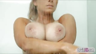 Massive boobs blonde honey Katerina fucked real good