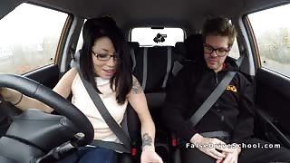 Fake driving instructor bangs Asian student