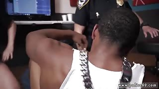 Two busty one black cock Raw video takes hold of police screwing a