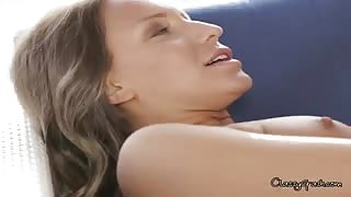 Two Hot Lesbians Play With Each Others Pussy