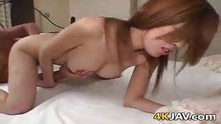 Hairy Japanese Pussy Fingered And Fucked