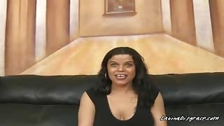 Latina Cougar Angelica Plays With Hung Studs