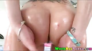 Nasty Casey Cumz gets her asshole ripped by throbbing cock