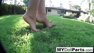 Kayla Danger foot fetish video
