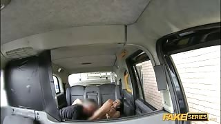 A public cab driver fucked his passenger inside the cab